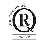Acquired HACCP certification (UK, LRQA)